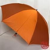 【日本製】甲州織 折疊傘 圓點 橙色 日本製 SD-1266 -