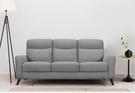【歐雅居家】歐托高背布沙發-三人座-灰 / 沙發 / 三人沙發 / 北歐風 / 12層內材