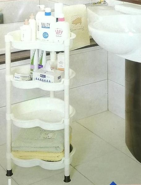 佳斯捷 歡心四層物品架 7981-4【62798159】收納層架 居家收納 浴室收納 置物架 層架《八八八e網購