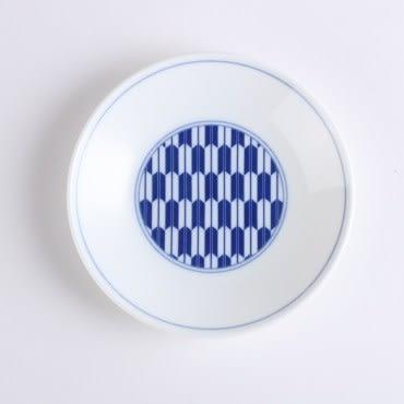 日本晨月圓盤13.5cm 箭紋