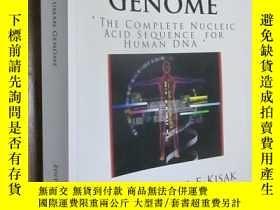 二手書博民逛書店THE罕見HUMAN GENOME:THE COMPLETE NUCLEIC ACID SEQUENCE FOR