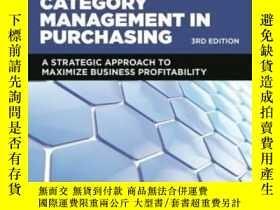 二手書博民逛書店Category罕見Management In Purchasing: A Strategic Approach