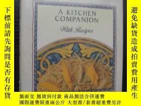二手書博民逛書店Edible罕見flowers:a kitchen compan