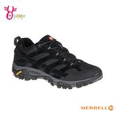 MERRELL登山鞋 工作鞋 低筒 黃金大底 GTX防水 戶外登山運動鞋_ML06017 H8313#黑色◆OSOME奧森鞋業