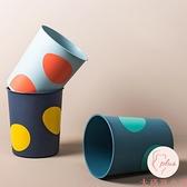 家用簡約客廳垃圾桶無蓋衛生間廢紙桶北歐廚房拉圾筒【大碼百分百】