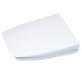 通用型單體方形馬桶蓋(白)