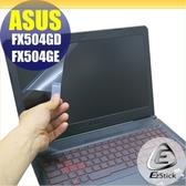 【Ezstick】ASUS FX504GD FX504GE 靜電式筆電LCD液晶螢幕貼 (可選鏡面或霧面)