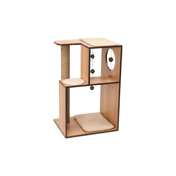 寵物家族-HAGEN 赫根Vesper 貓用實木精品家具 跳台-雅座(核桃木)
