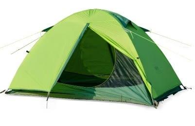 [協貿國際]   矽膠防雨帳篷雙人露營野營雙層帳篷  (1入)