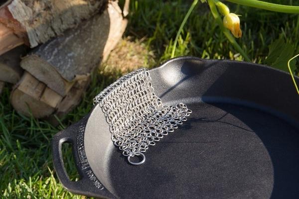 【速捷戶外】PETROMAX SCRUB 不鏽鋼潔鍋鍊網 (鑄鐵鍋清潔神器)
