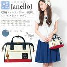 限量新色 日本人氣商品 Anello 高密度尼龍手提肩背兩用包