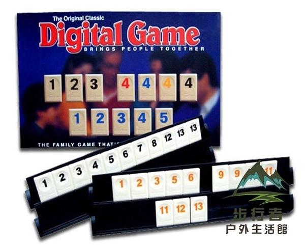 桌游以色列麻將數字麻將牌標準版拉密桌面聚會遊戲【步行者戶外生活館】