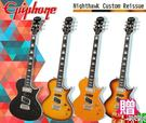 【小麥老師 樂器館】買1贈12!Epiphone Nighthawk Custom Reissue 夜鷹電吉他 一年保固