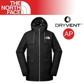 【The North Face 男 DV防水外套《黑》】3IFC/DryVent/防水夾克/風雨衣/戶外登山