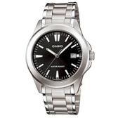 【CASIO】 時尚新風格都會指針腕錶-羅馬黑面(MTP-1215A-1A2)