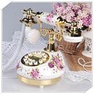 韓式電話陶瓷復古電話機田園鄉村052570通販屋