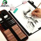 可繪畫素描鉛筆套裝專業成人畫畫筆工具美術用品初學者 【格林世家】