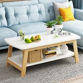暖北歐茶几簡約客廳小戶型ins風實木經濟型簡易小茶几小桌子茶機桌  ATF 極有家