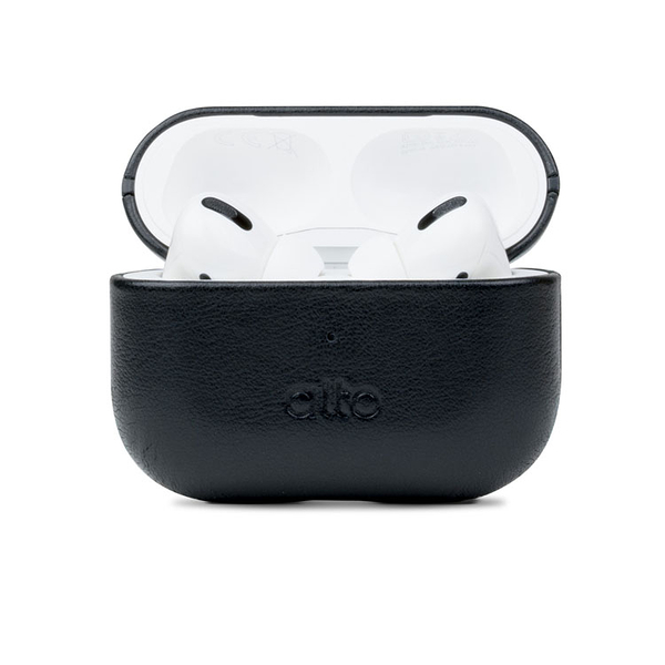 Alto AirPods Pro 皮革保護套 - 渡鴉黑