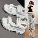 涼鞋女 2021年新款夏季平底外穿女士休...