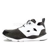 Reebok Furylite Asymmetrical [V68677] 女鞋 運動 休閒 陰陽 黑白