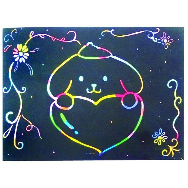 空白刮畫 兒童玩具 卡通塗鴉刮畫 (購潮8)