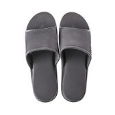 HOLA 銀離子抗菌EVA輕便室內拖鞋-炭灰L(41/42)
