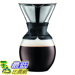 [107美國直購] 手沖咖啡濾壺 Bodum Coffee Maker 51 oz 11593-01S Pour Over Coffee Maker with Permanent Filter
