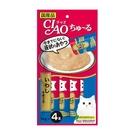 寵物家族-CIAO啾嚕肉泥(鮪魚+沙丁魚)14g*4入CI-SC-145