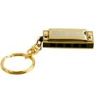 口琴 SUZUKI鈴木 S-5 五孔十音 迷你款鑰匙扣小口琴 金色兒童口琴 韓菲兒