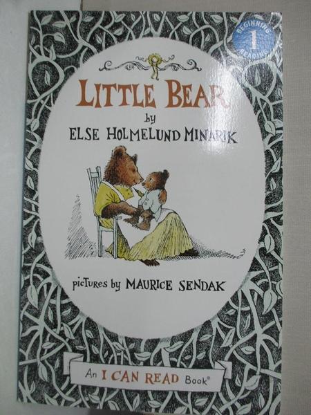 【書寶二手書T7/原文小說_GT4】Little Bear_Minarik, Else Holmelund/ Sendak, Maurice (ILT)