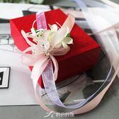 粉色森繫新娘伴娘手腕花胸花結婚婚禮用品姐妹團手花婚紗攝影道具 樂芙美鞋