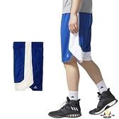 Adidas 男 寶藍 白 短褲 籃球褲 雙面穿 團體籃球褲 球褲 透氣 球衣 短褲 刺繡 運動褲 CD8684