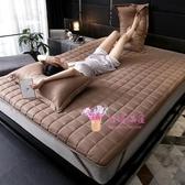 床墊 加厚床墊軟墊家用學生宿舍單人海綿墊被褥子榻榻米1.5m 4色