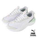 Puma Val 白色 網布 休閒運動鞋 女款 NO.J0446【新竹皇家 37223906】
