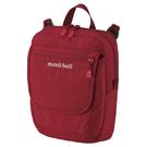 [好也戶外]mont-bell TRAVEL 單肩包-皇家藍/黑/深紅 No.1123892-RBL/BK/DRD