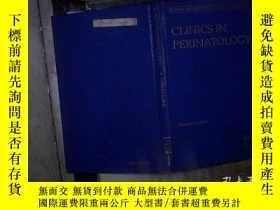 二手書博民逛書店CLINICS罕見IN PERINATOLOGY DECEMBER 2003 會陰科診所2003年12月 精裝