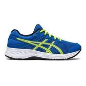 Asics CONTEND 6 GS [1014A086-404] 大童鞋 運動 休閒 慢跑 舒適 支撐 亞瑟士 藍 黃
