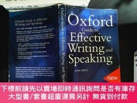 二手書博民逛書店The罕見Oxford Guide to Effective Writing and SpeakingY167
