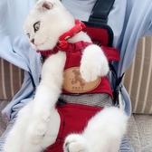 貓咪外出背帶胸前寵物外出便攜包背貓袋狗狗背包出門雙肩裝貓貓包  ATF  極有家