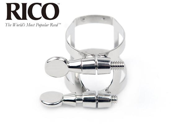 【小叮噹的店】RBS1LN 美國RICO 上低音薩克斯風 鍍鎳束圈束環