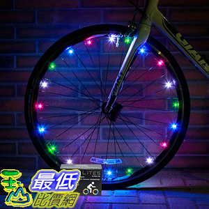[106美國直購] 車輪燈 Super Cool LED Bike Wheel Lights - Best Birthday Gifts & Presents for Boys Girls