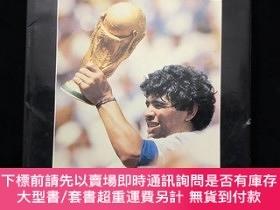 二手書博民逛書店馬拉多納1986年世界杯精裝畫冊阿根廷罕見那不勒斯Y207942 馬拉多納 forte 出版1