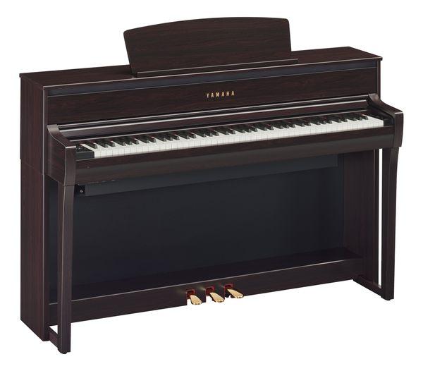 【金聲樂器】新上市 YAMAHA CLP-675 R 深玫瑰木色 88鍵 電鋼琴 數位鋼琴 木質鍵盤