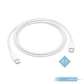 【2入組 - APPLE蘋果適用】iPad Pro系列 / 雙USB-C 連接傳輸充電線 - 1公尺
