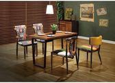 【新北大】✪ C852-2 角川木面餐桌4尺(不含餐椅)-18購