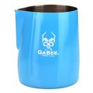 金時代書香咖啡 GABEE. 1408B拉花杯 600CC (藍)HC7103BU