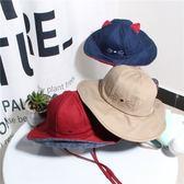 寶寶漁夫帽夏天遮陽帽