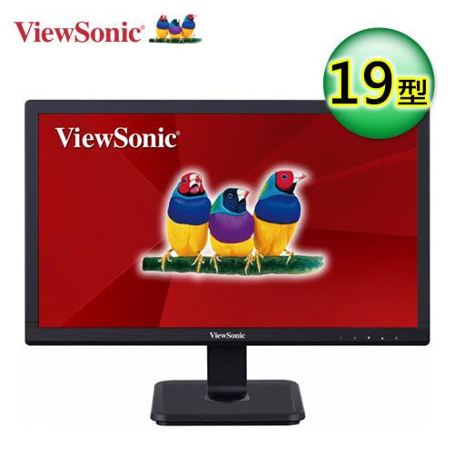 【ViewSonic 優派】VA1901-a 19吋 零閃頻 抗藍光寬屏顯示器 【買再送折疊收納購物袋】