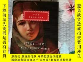 二手書博民逛書店First罕見Love SPRING TORRENTS A FIRE AT SEA 初戀 春潮 Ivan Turg